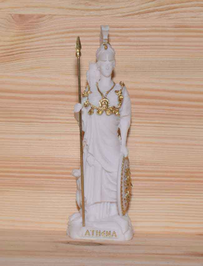 Ancient Greek Statue Athena white 1