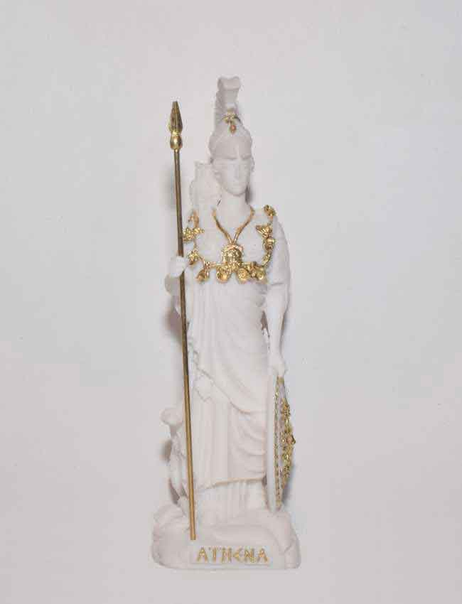 Ancient Greek Statue Athena white